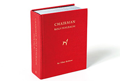「本」という構造に寄りかかったデザイン――『CHAIRMAN ROLF FEHLBAUM』