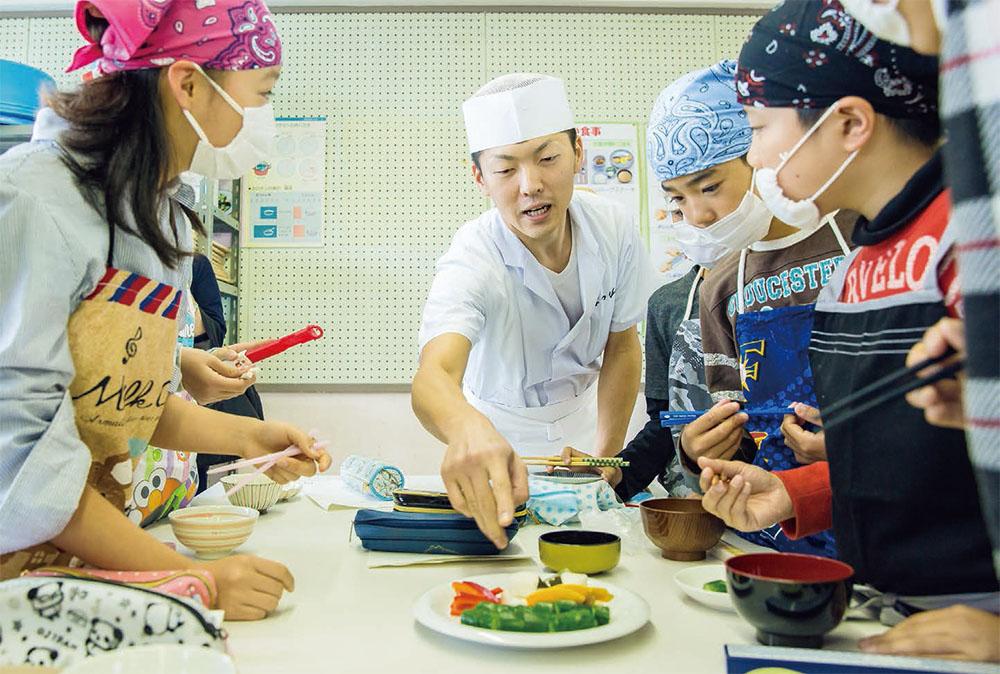 給食を通じて、日本の文化を伝える和食給食応援団