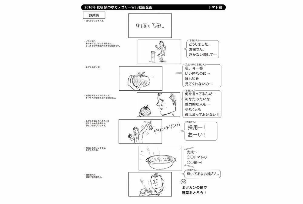 吉田鋼太郎が野菜を女性のように口説く―ミツカン CM制作の裏側