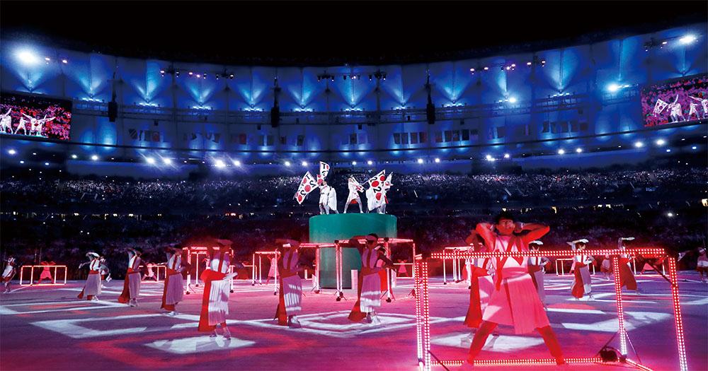 世界の観客が沸いた! リオ大会 旗引き継ぎ式の舞台裏(前篇)