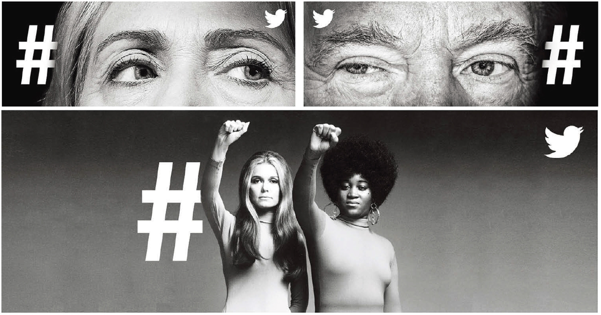 Twitterが現代の言論の場であることを端的に示したOOH「WHAT'S HAPPENING」