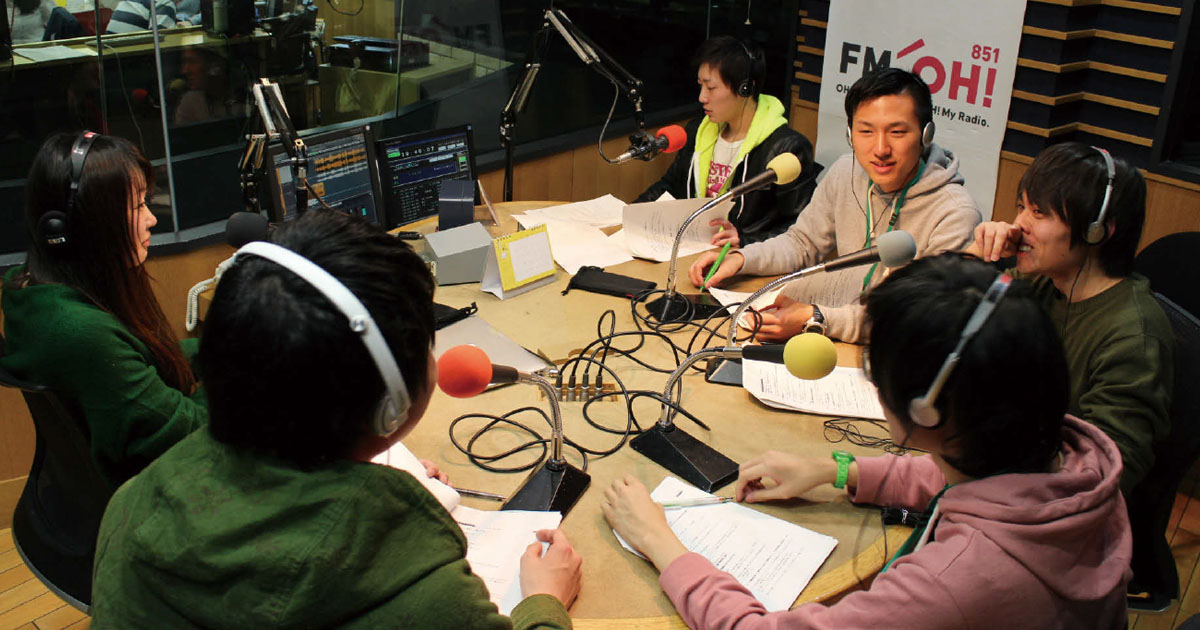 企画から録音まで、学生たちがつくるラジオ番組 | ブレーンデジタル版