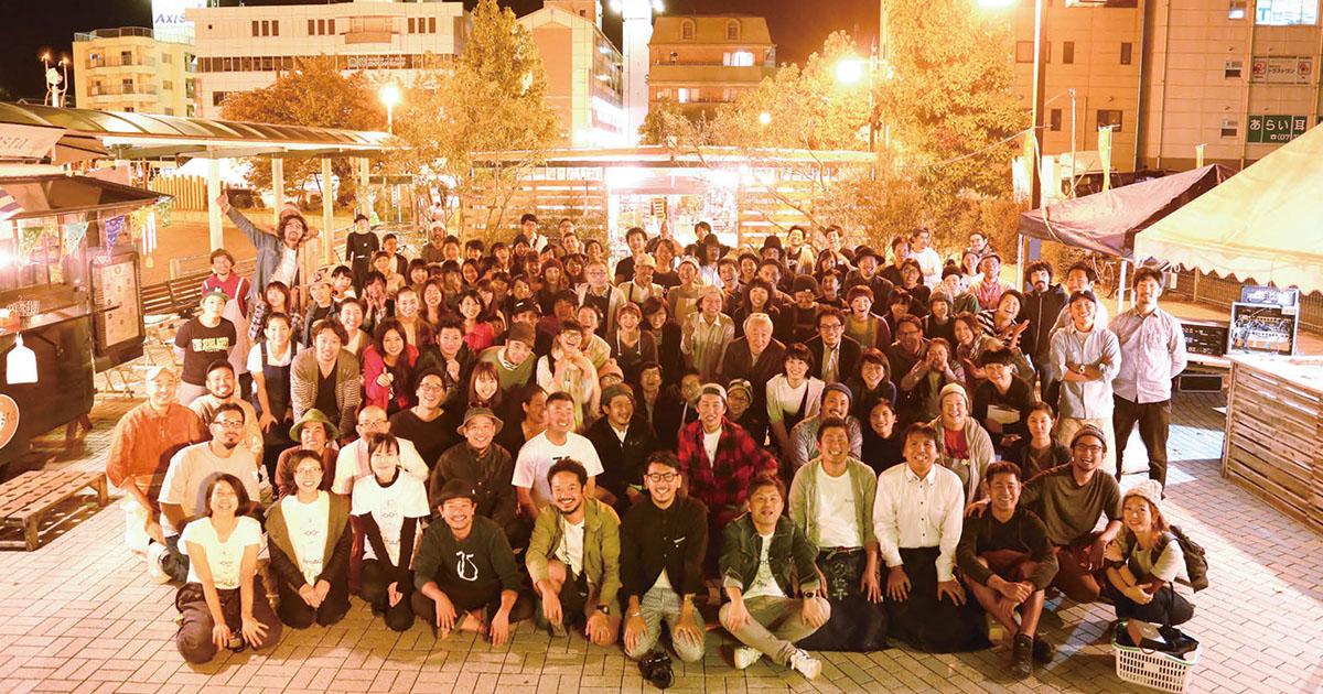 和歌山で楽しく働く 大人が集まる理想の商店街