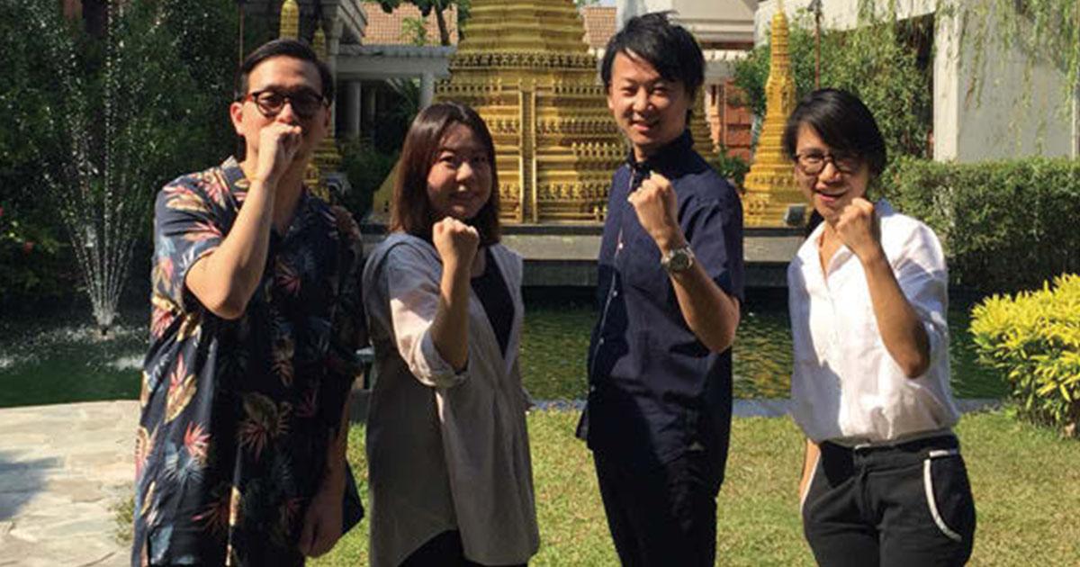 タイを拠点に東南アジア一帯の仕事に参画