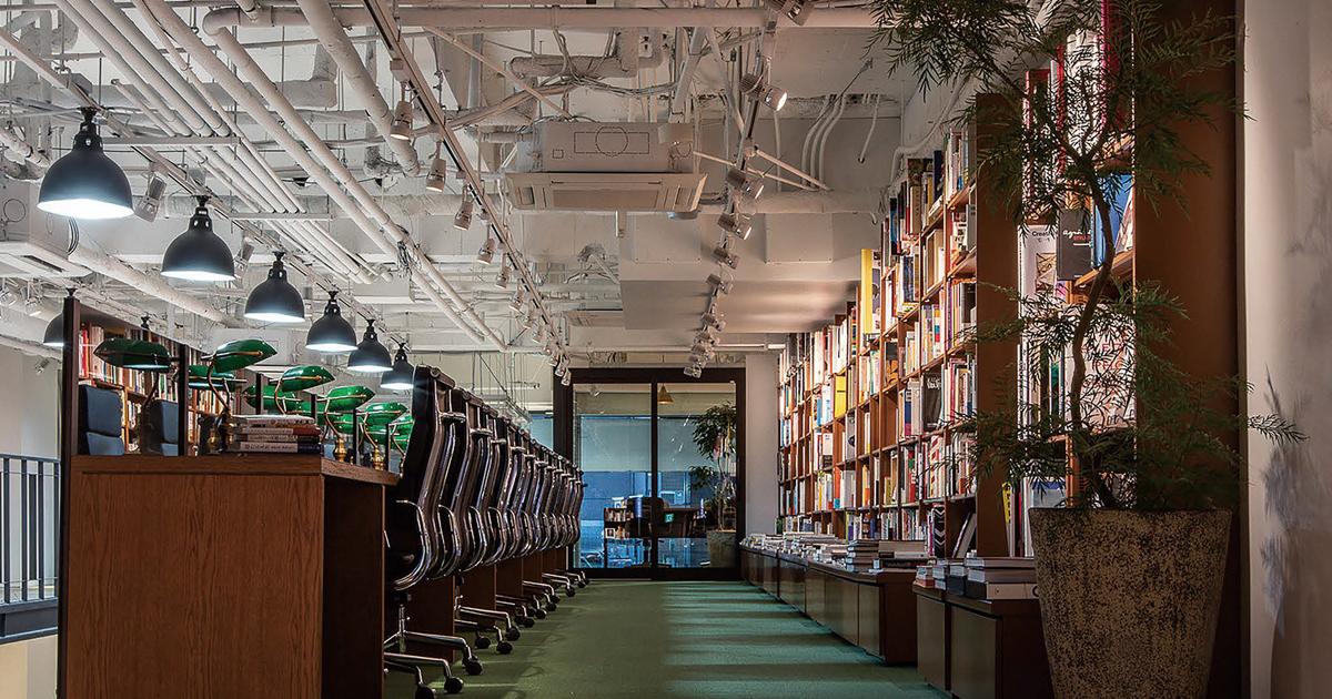 本と出会い、恋するまでを演出する書店