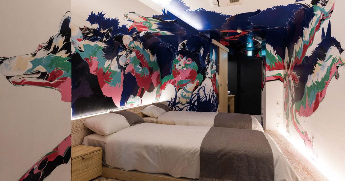 アーティストコミュニティとの交流を生むホテル