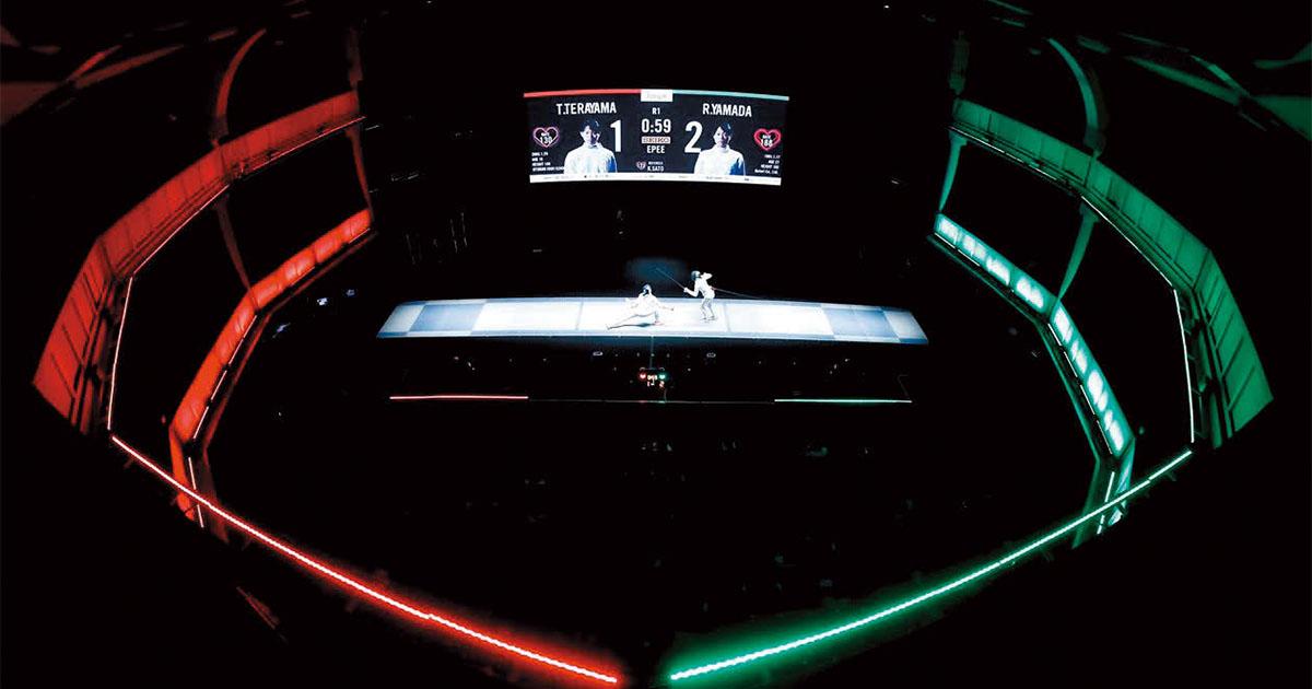 「劇場フェンシング」が試合をショーに変える