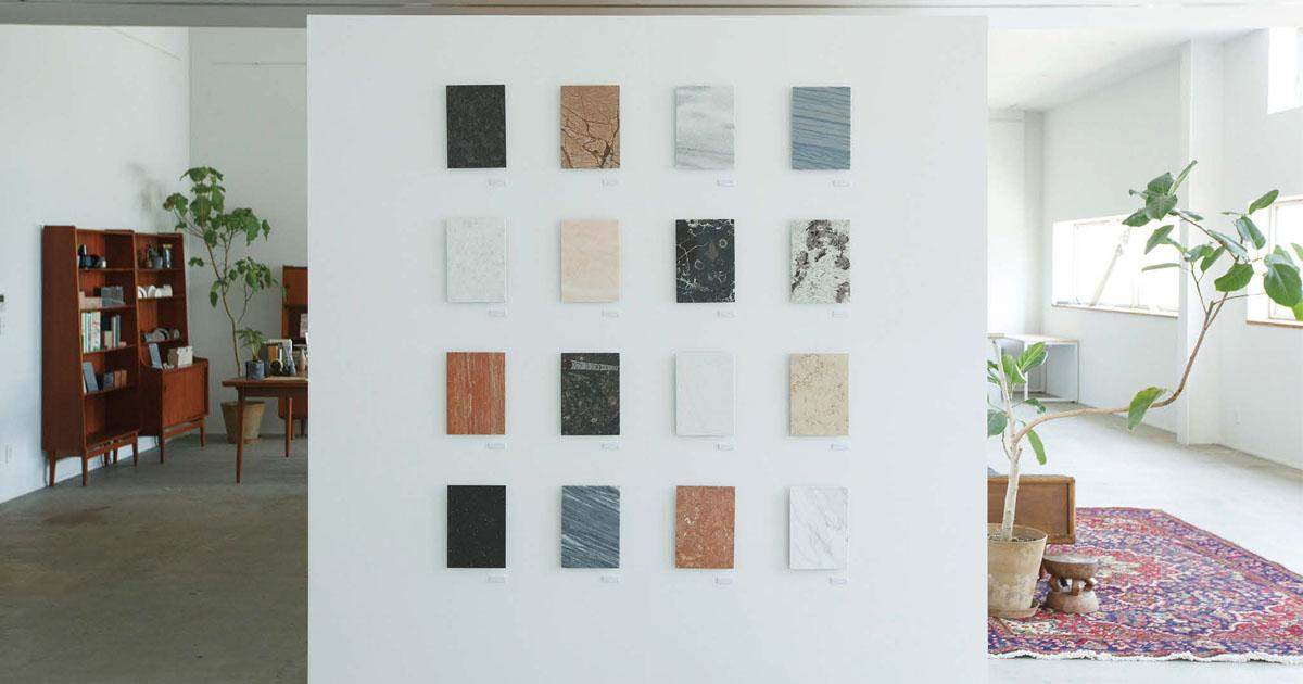 石をテーマに関ケ原石材が開催したユニークな展覧会