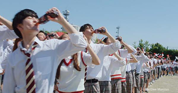 日本コカ·コーラ「熱さのリレー」