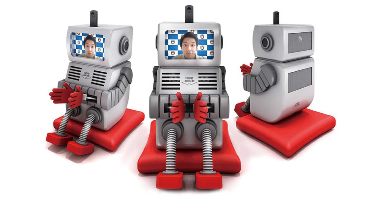 距離や身体的な課題も超える ロボットを通したリモート観戦