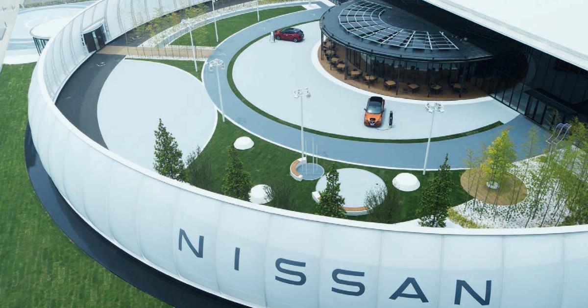 イノベーションの少し先の未来を描く、ニッサン パビリオン