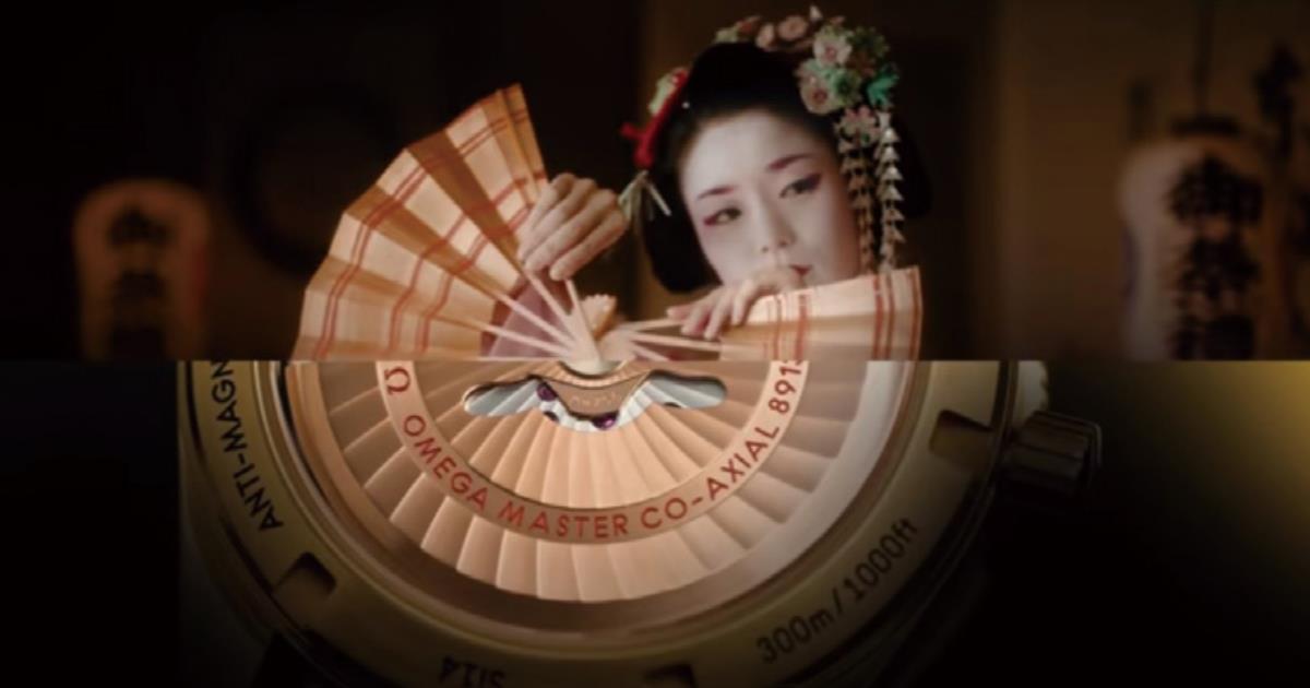 東京2020に合わせ「精密さ」と「美しさ」を表現、OMEGAの広告