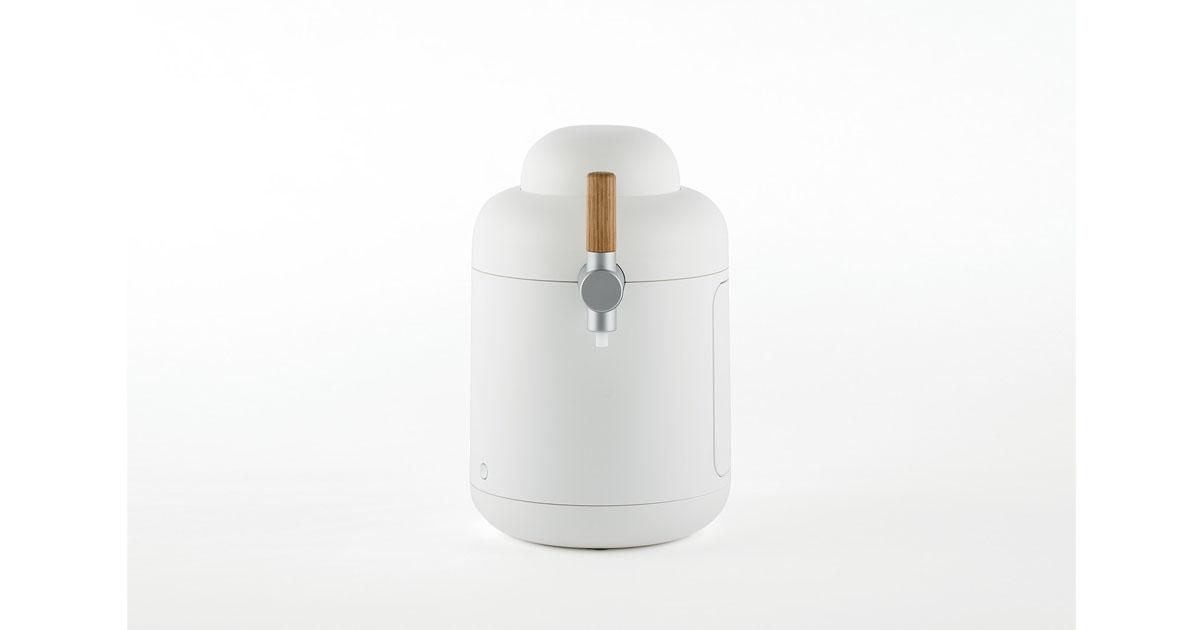 「家具」と掲げたビールサーバーのプロダクトデザイン