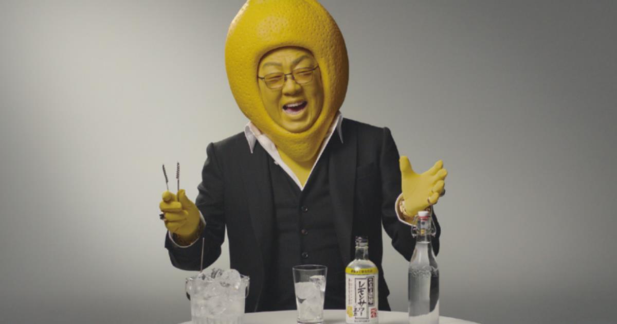 あの名作CMを梅沢富美男が再現「こだわり酒場のレモンサワー」CM制作の裏側