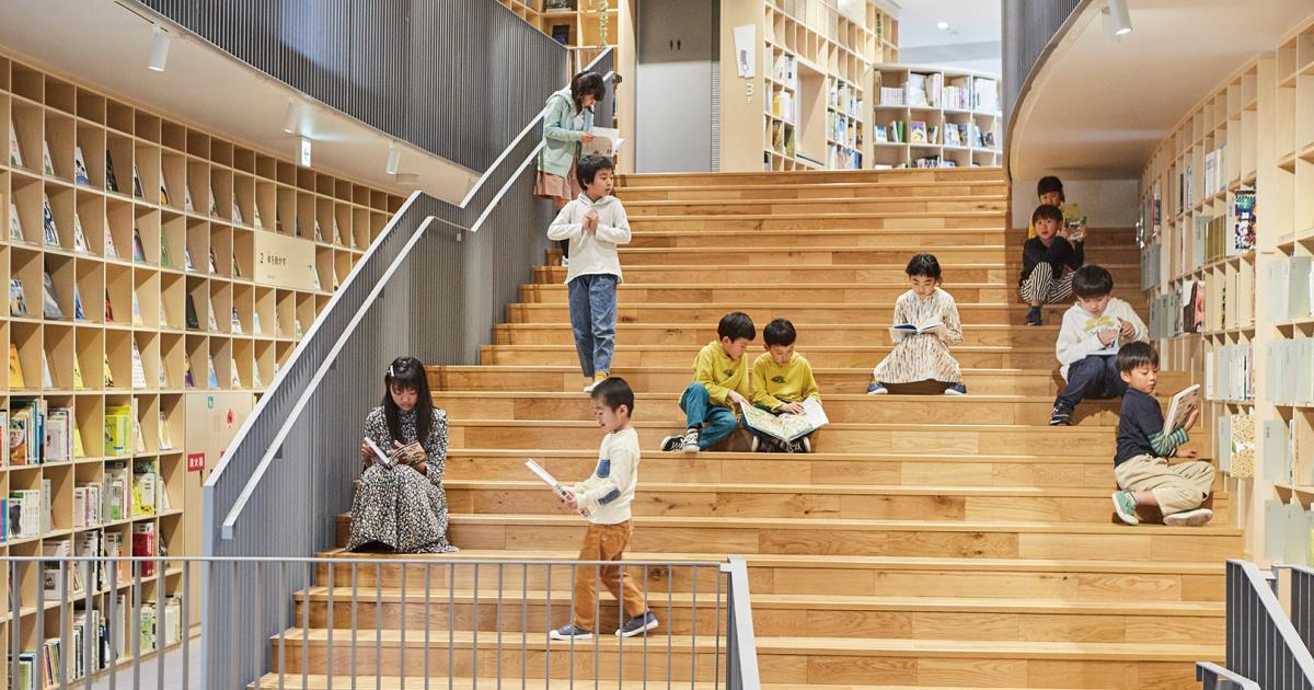 子どものための文化施設「こども本の森 中之島」
