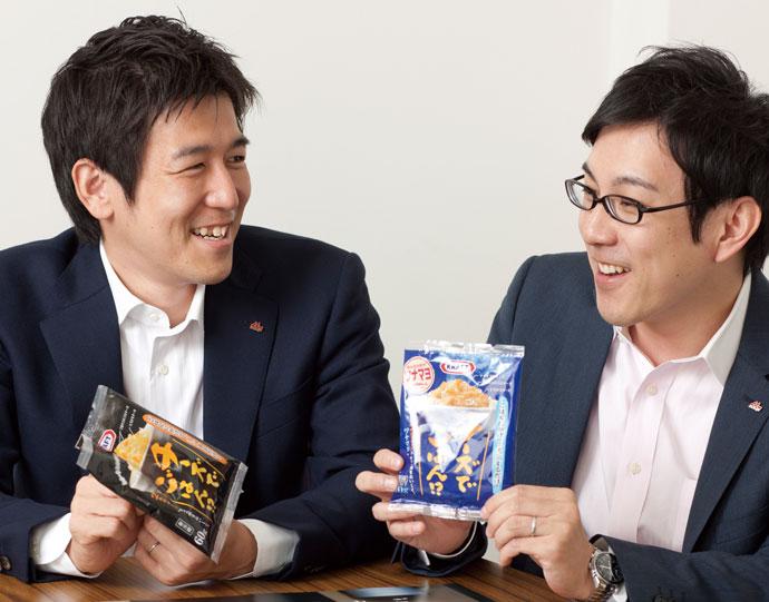 田口義大氏(左)見上 亮氏(右)