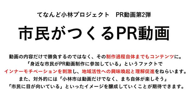 宮崎県小林市 てなんど小林プロジェクト PRムービー第2弾のご提案