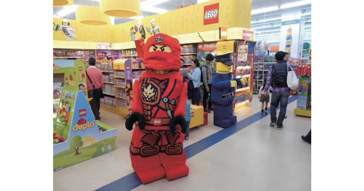 レゴ店頭イベントで1万人の子どもの心をつかむほか、成果をあげたプロモーション(7)