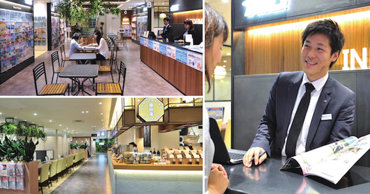 来店者から会話が始まる H.I.S.渋谷本店の仕掛け