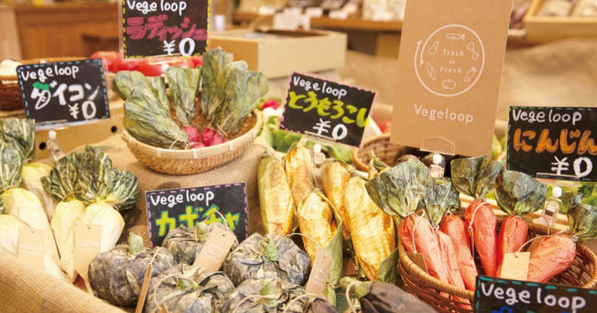 廃棄野菜利用した栽培キット 期間限定マルシェで国内外から注目