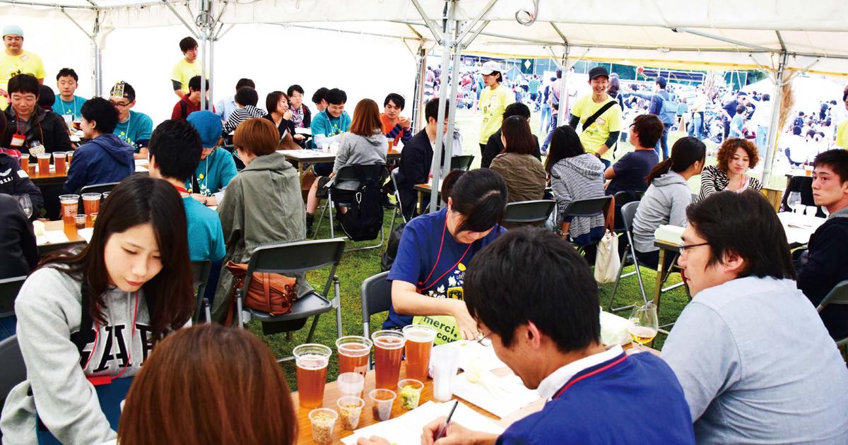 初の都内開催で約4000人のファンが集結 よなよなエールの超宴