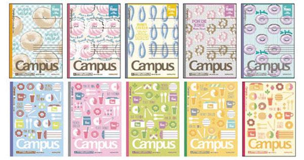 コクヨ、ミスタードーナツとのコラボ文具 女子中高生に人気の柄で2カ月連続発売