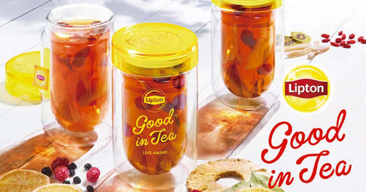 リプトンがポップアップストアを冬期初開催 ホットアレンジティー「Good in Tea」を9種類提供