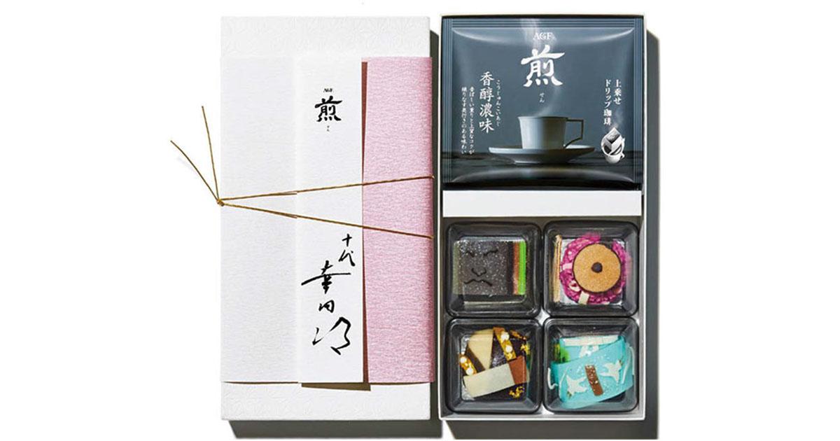 AGF、コーヒーとオリジナル和菓子をセット販売 歌舞伎座ほか
