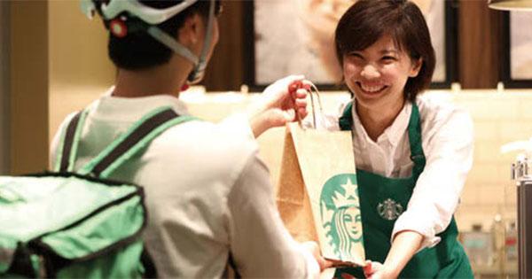 スタバ、日本でもデリバリー開始 来年には新コンセプトの店舗も