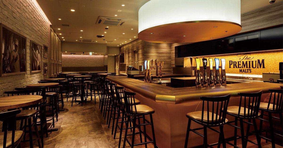 サントリービール常設店が好調 初年度売り上げ約1.2億円めざす