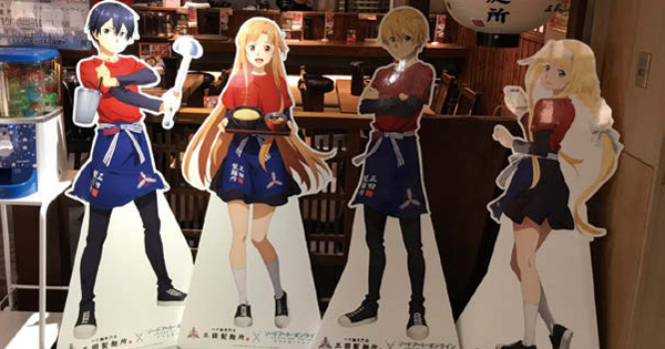 三田製麺所が人気アニメとコラボ 開始10日で売り上げ5%アップ