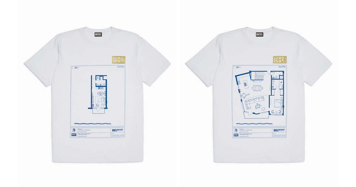 ディーゼル 約6億円のTシャツ「マンション購入の入り口に」