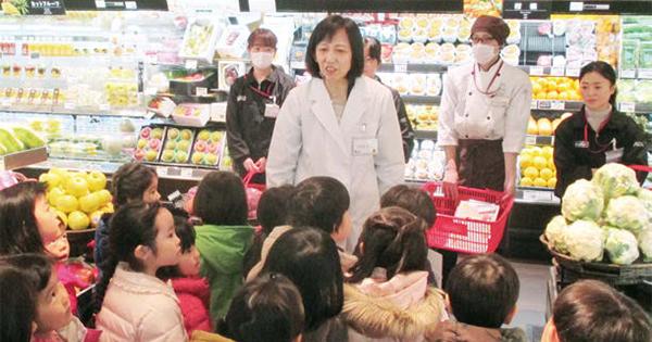青果売り場で食育 体験者数はのべ502人 マックスバリュ北海道