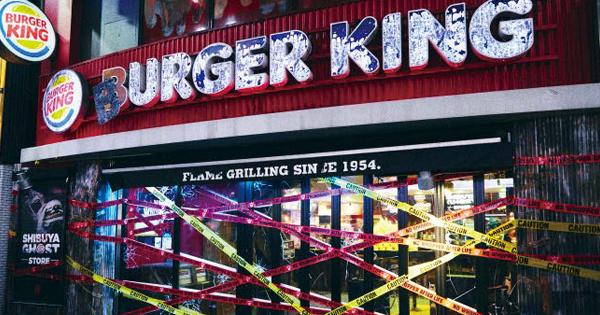 バーガーキング、ハロウィンのゾンビ向け店舗に大反響