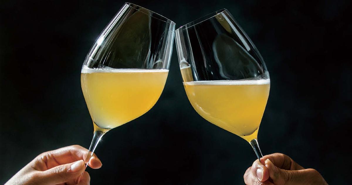 シャンパンの座狙う高級ビール「ROCOCO Tokyo WHITE」