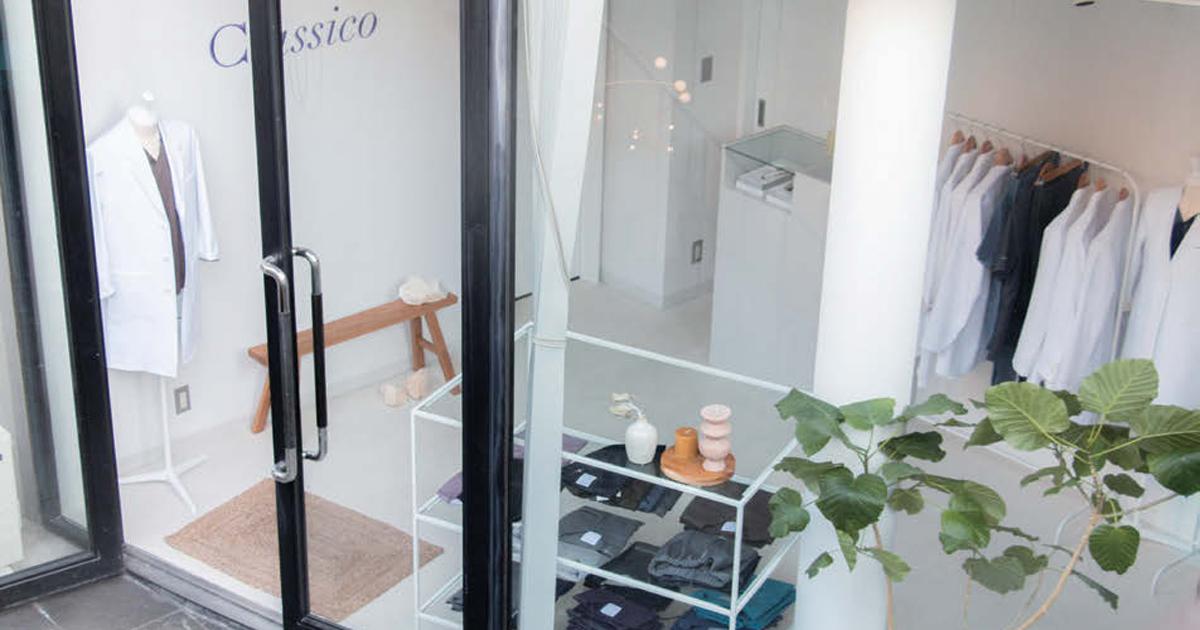 医療用白衣メーカーが直営店舗オープン ECとは異なる顧客を獲得