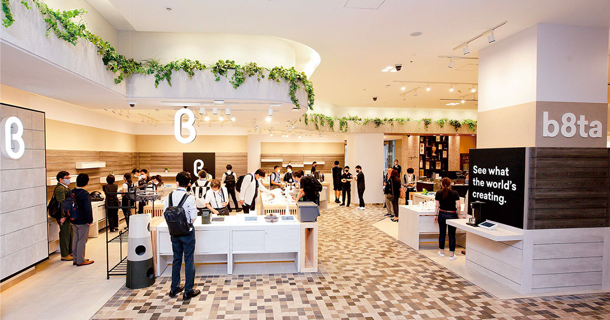 シリコンバレー発の「売らない」店舗 東京に2店舗同時オープン