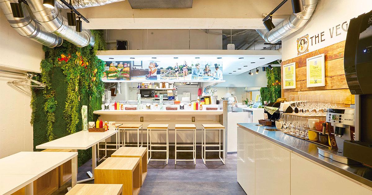 未来型のハンバーガーショップ プラントベース専門肉屋も展開