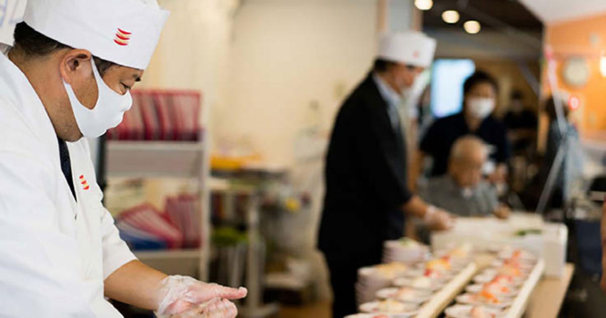 かっぱ寿司が出張サービス開始 回転寿司ならではの体験が自宅で