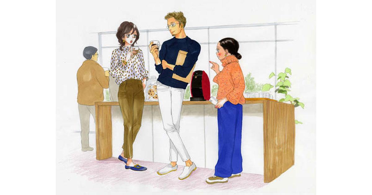 ネスカフェが漫画「働きマン」とコラボ、コーヒー飲用習慣を提案