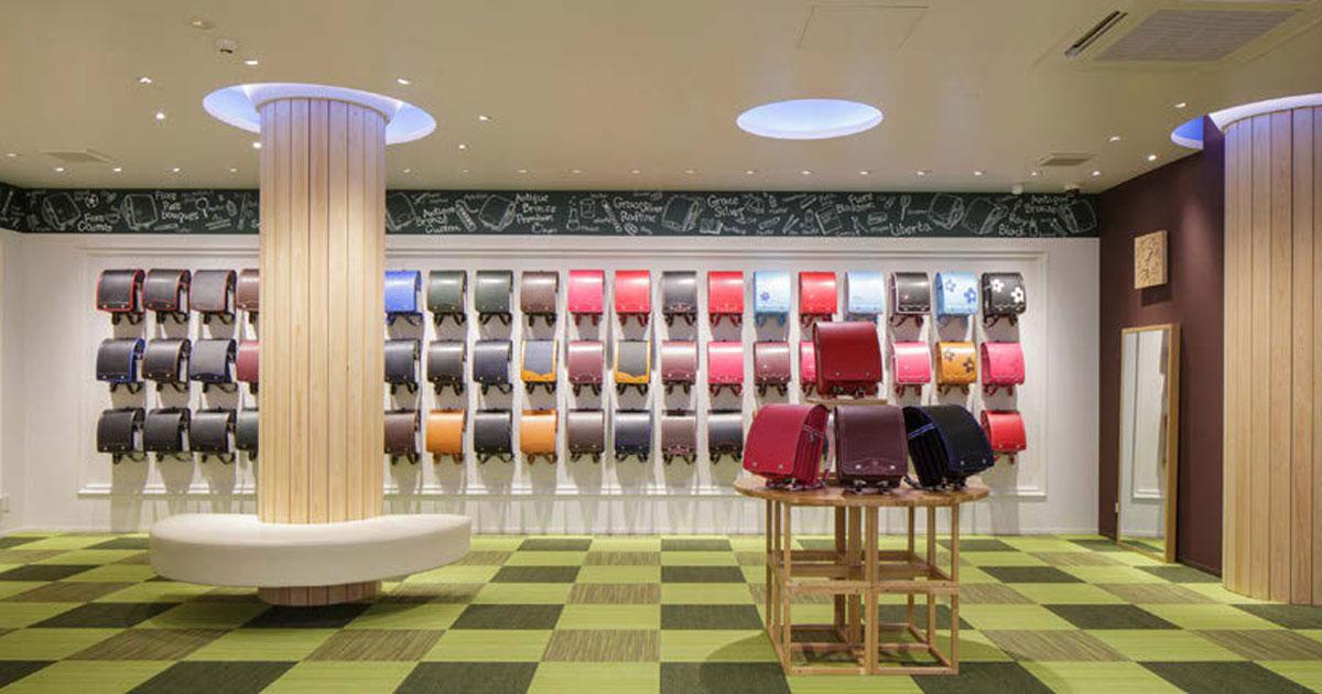 ランドセルの無人ショールームが開店 来店予約から入退場まで完全に自動化