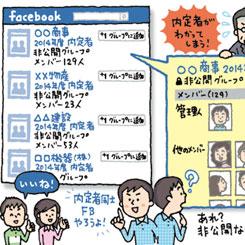 「非公開」でも登録メンバーは見えている、フェイスブック・グループ機能のリスク