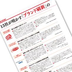エースコック、NEC、マツダ・・・10社が明かす「ブランド刷新」の目的とゴールとは