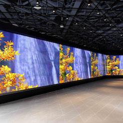 東急プラザ銀座にオープン 4K大型映像システムが目玉の「三菱電機イベントスクエア」