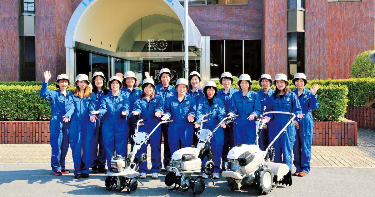 女性目線で農機開発に挑む 女性農業者との共同プロジェクト