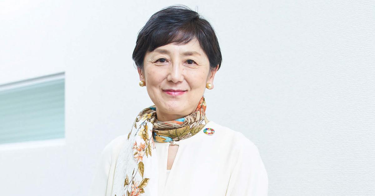 国谷裕子氏に聞く SDGsの重要性と行動指針