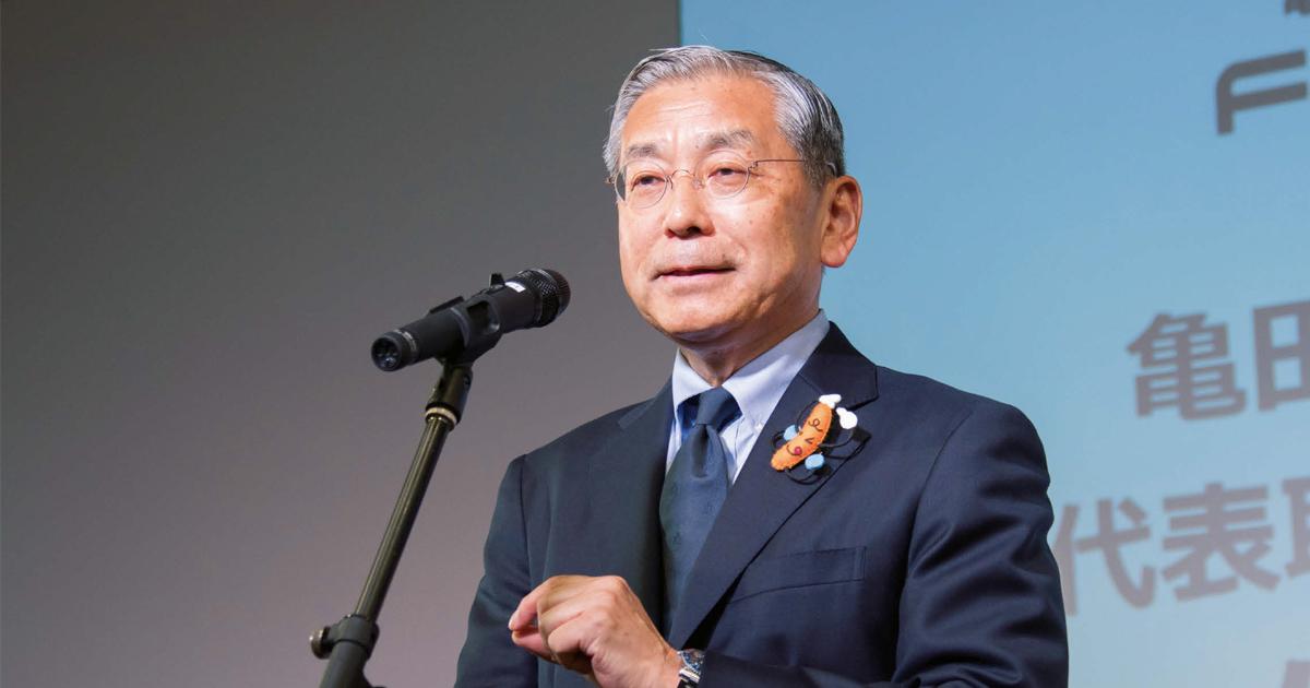 亀田製菓・佐藤勇社長のプレゼン分析「失敗事例を自ら開示」