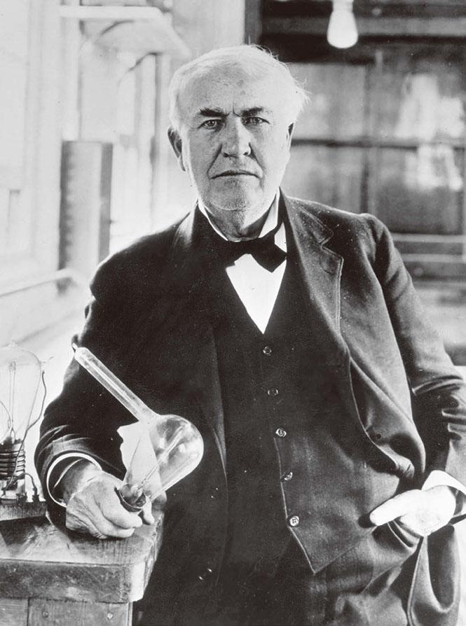 エジソン 発明