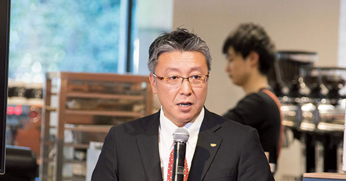横浜でUCCの新コンセプトカフェ発表会 トップのプレゼンを分析