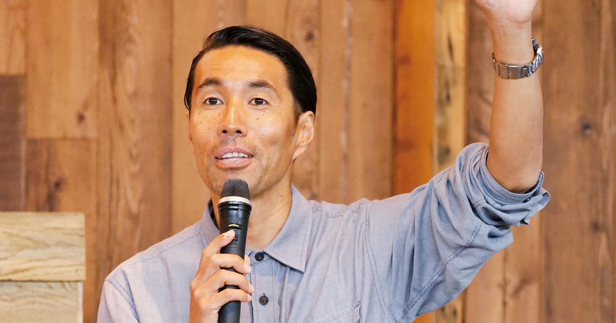 パタゴニア日本支社長のプレゼン「首尾一貫したブランドミッションを体現」